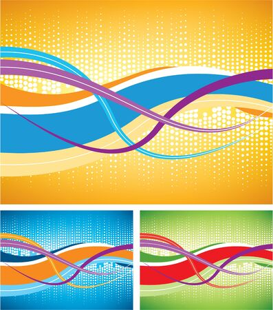 Dotted background abstract Stock Vector - 7373997