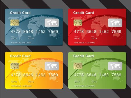 to consume: credit card Illustration