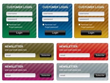 online form: forms for website