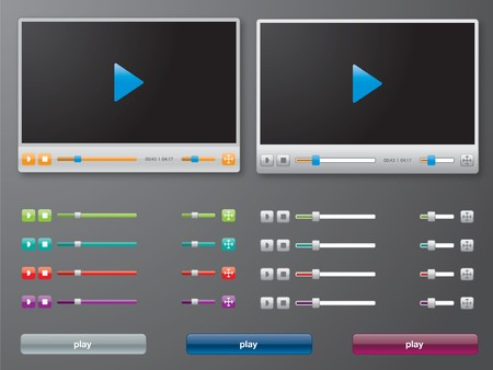 controlling: media player