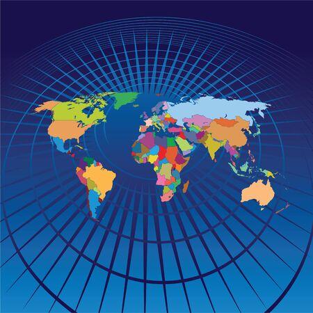 south east asia: Mappa del mondo