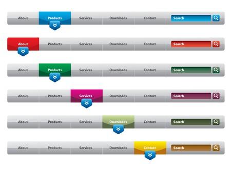 rollover: navigation menu