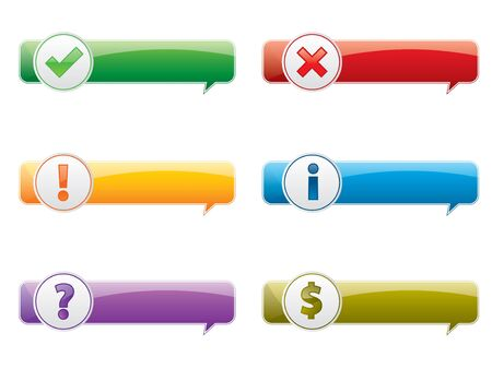 warning box Stock Vector - 8062215