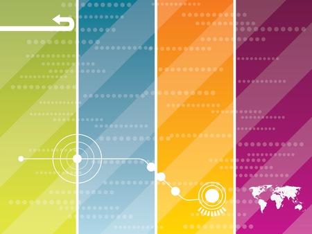 electronic elements: background grafica vettoriale creati con la tecnologia
