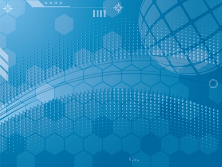 abstract background graphics created with technology Vector