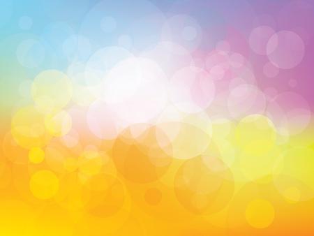 Fond avec des couleurs fraîches et de l'enfance amusant Banque d'images - 14841353