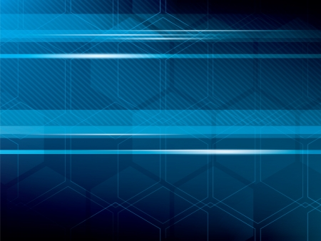 vector illustration abstract background with blue Vector