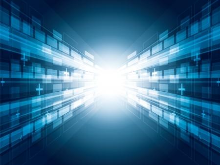 Virtual tecnology background