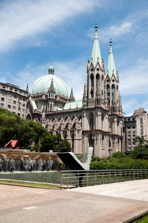 se: Se Cathedral in sao paulo
