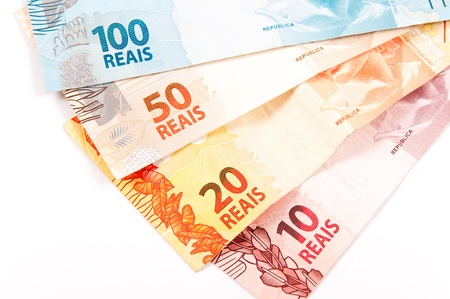 New model of brazilian money Standard-Bild