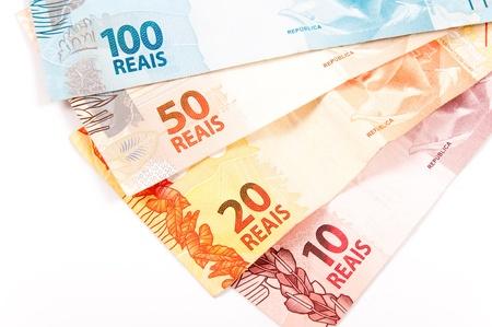 New model of brazilian money Archivio Fotografico