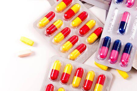 medicament: Pills and capsules of medicament