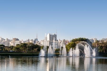 City sao paulo, Ibirapuera Park