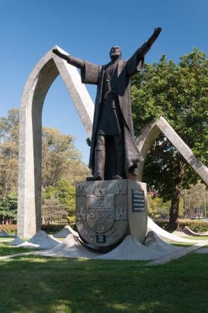 The Monument Pedro Alvares Cabral in São Paulo, Brazil