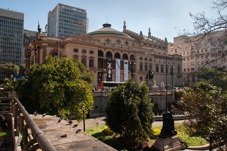 Municipal theater of Sao Paulo