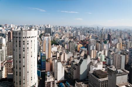 Ciudad de Sao Paulo, Brasil Foto de archivo - 24373481