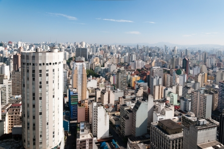 sao paulo stad, Brazilië Stockfoto