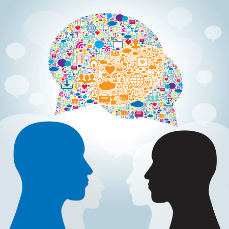 Strategy business communication in social networks