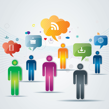 crowdsource: discussion and communication between people on business