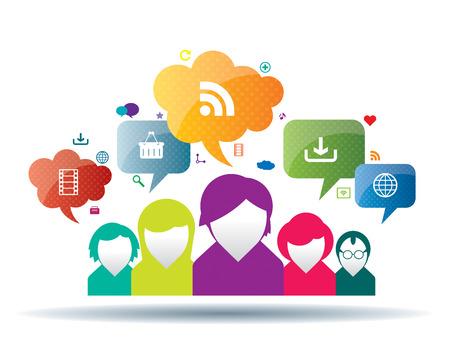 CHanges et la communication entre les personnes en voyage d'affaires Banque d'images - 25806998