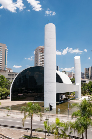 so: The Memorial of Latin America is a cultural center, political and leisure in the city of S??o Paulo, Brazil.