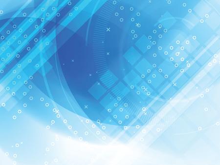 Abstracte achtergrond van futuristische technologie Stock Illustratie