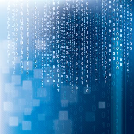 미래 기술의 추상적 인 배경