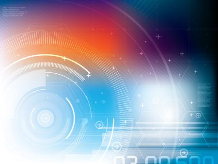 technology: astratto sfondo tecnologia  Vettoriali