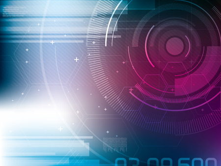 Abstract background of futuristic technology