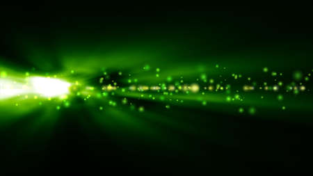 green backgrounds: Futuristic abstract technology background with bright green lights blurred
