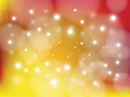 illustration abstract: Defocused background with lights. Blurred backdrop. Abstract bokeh style  illustration.
