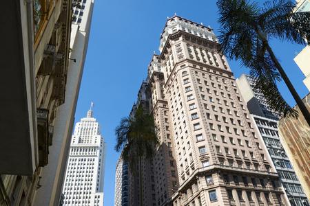Building architecture of Sao Paulo city Brazil