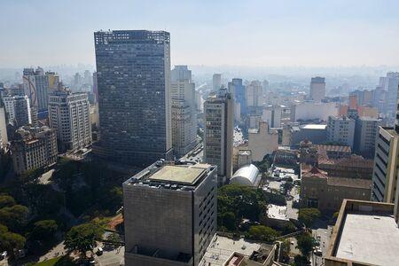 city building: Building architecture of Sao Paulo city Brazil