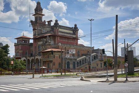 industry architecture: Catavento Museum in Sao Paulo city, Brazil