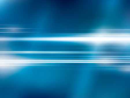 bright lights: Bright lights on blue abstract background vector