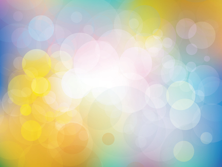 Colorful background with fresh colors with vector shapes