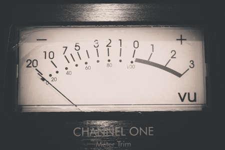 audio: Recording Audio Equipment in recording studio Stock Photo