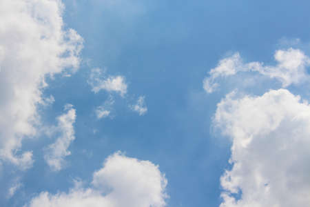 cloude: Blue ske on a sunny day Stock Photo