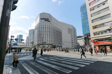 consumer electronics: OSAKA, JAPAN - FEBUARY 9: Yodobashi Camera is a consumer electronics in Japan on FEBUARY 9 2015 in Osaka, Japan. Editorial