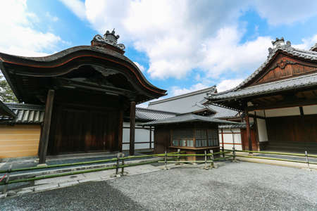 rokuonji: A Hall at Kinkaku-ji Temple in Kyoto Editorial