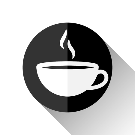 Vector Illustration Of an Italian Espresso Icon Black