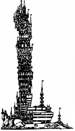 Postmodern tower