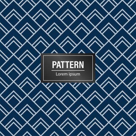 Geometric pattern background. Minimalist and modern blue background