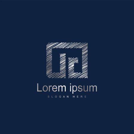 Initial Letter DG Logo Template Vector Design