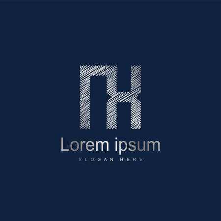 Initial Letter NX Logo Template Vector Design Logó