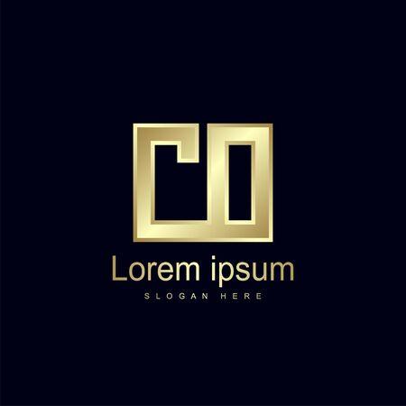 Initial Letter CO Logo Template Vector Design