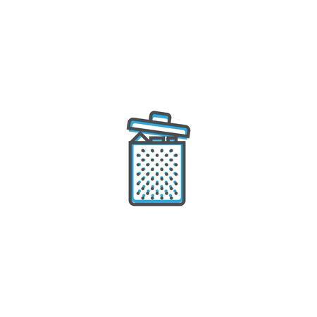 Gerbage icon design. Essential icon vector illustration design