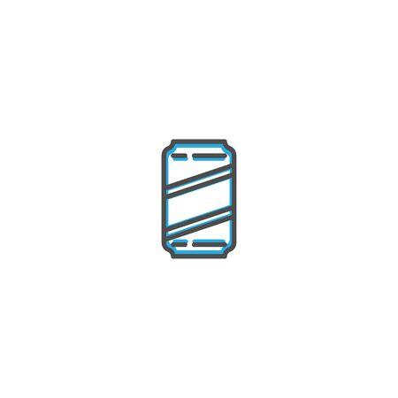 Can icon design. Gastronomy icon vector illustration design