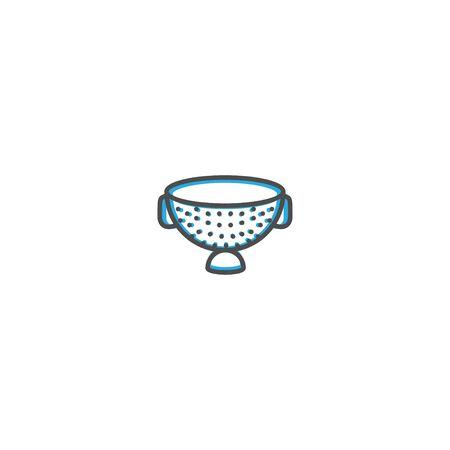 Strainer icon design. Gastronomy icon vector illustration design