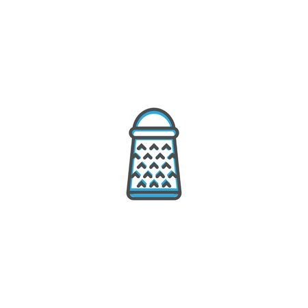 Grater icon design. Gastronomy icon vector illustration design Imagens - 128896089